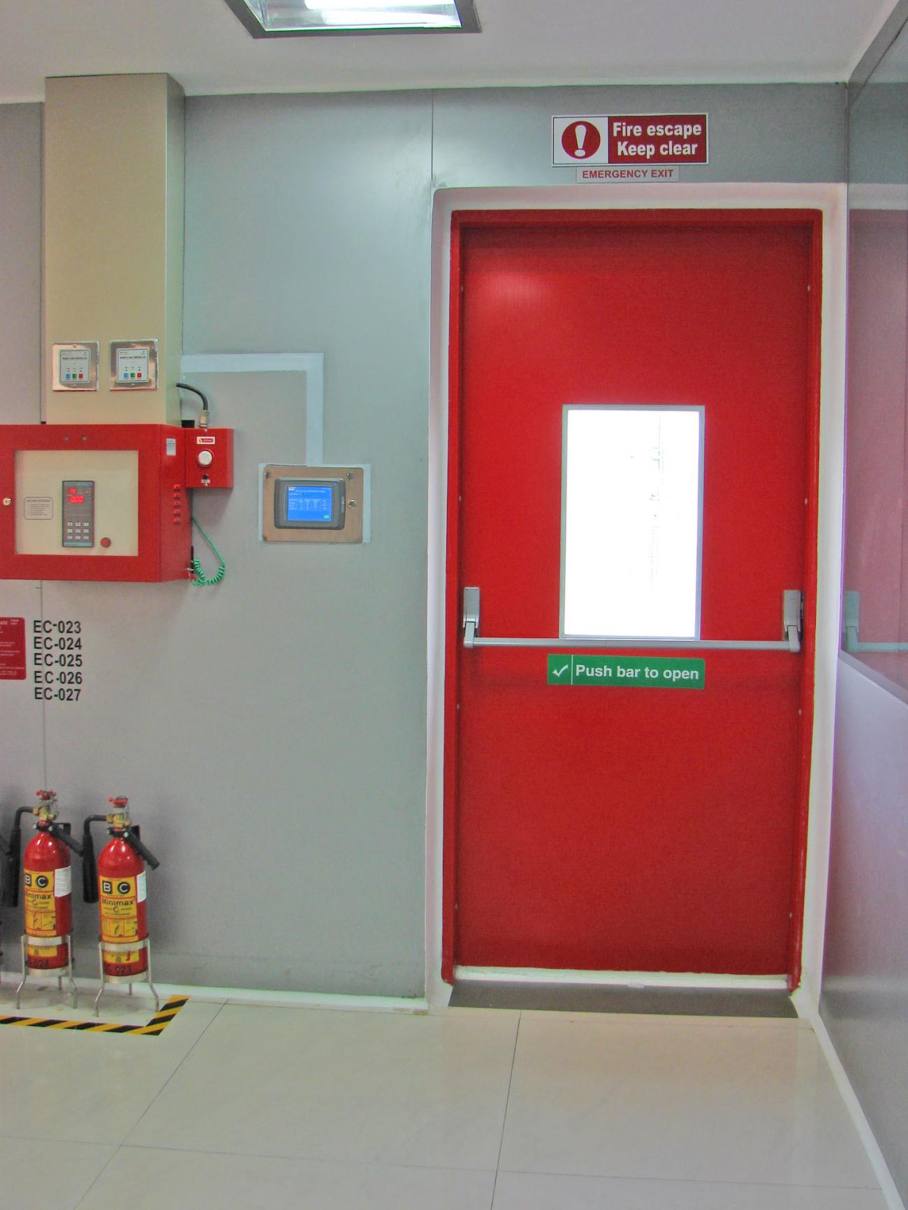 fire exit door manufacturers in bangalore